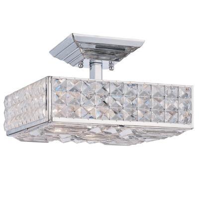 Crystorama Lighting 909 Chelsea - Three Light Ceiling Mount