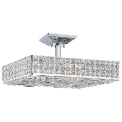 Crystorama Lighting 918 Chelsea - Six Light Ceiling Mount