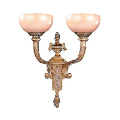 Crystorama Lighting 952 Natural Alabaster - Two Light Wall Sconce