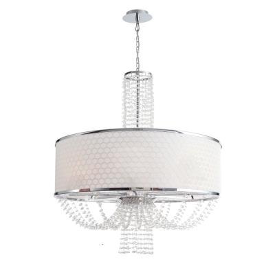 Crystorama Lighting 9808 Allure - Eight Light Chandelier