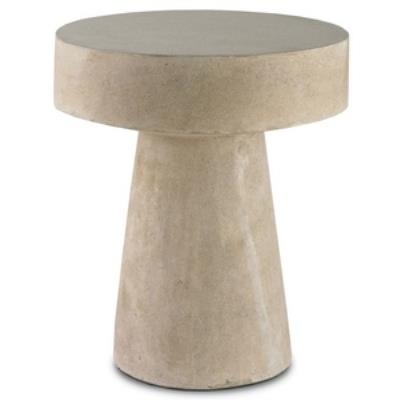 "Currey and Company 2025 Higham - 20"" Round Occasional Table"