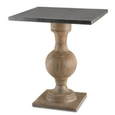 "Currey and Company 3164 Pinkney - 24"" Table"