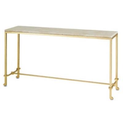 "Currey and Company 4127 Delano - 62"" Console Table"