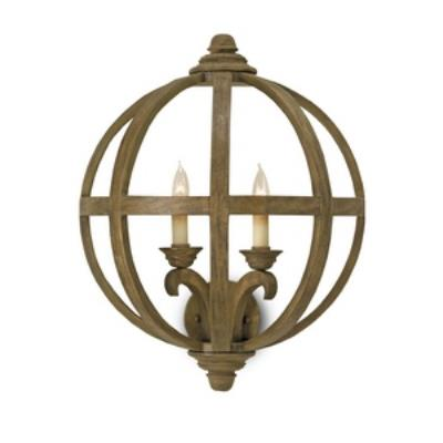 Currey and Company 5095 Axel - Two Light Wall Sconce