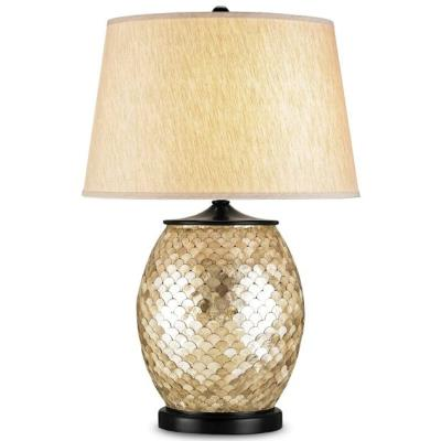 Currey and Company 6380 Alfresco - One Light Table Lamp