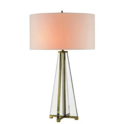 Currey and Company 6557 Lamont - One Light Table Lamp