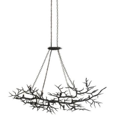 Currey and Company 9007 Rainforest - Fourteen Light Chandelier
