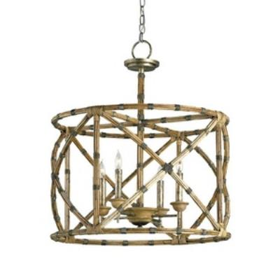 Currey and Company 9694 Palm Beach - Four Light Lantern