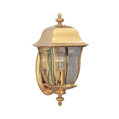 Designers Fountain 1532-PVD-PB-0 1 Light Outdoor Wall Lantern