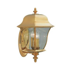 3 Light Outdoor Wall Lantern