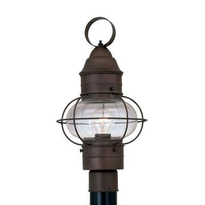 Designers Fountain 1766-RT Nantucket - One Light Outdoor Onion Post Lantern