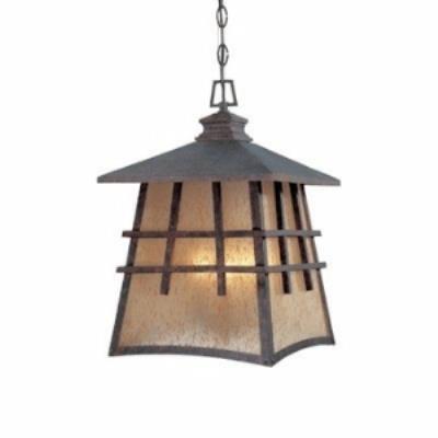 Designers Fountain 30724 Oak Park - Four Light Outdoor Hanging Lantern