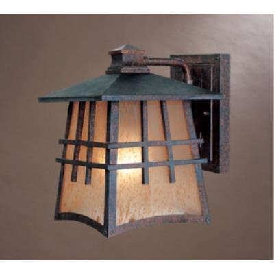 Designers Fountain 30701-MP Oak Park - One Light Outdoor Wall Lantern