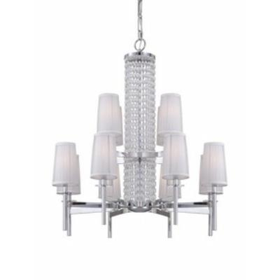 Designers Fountain 839812-CH Candence - Twelve Light Chandelier