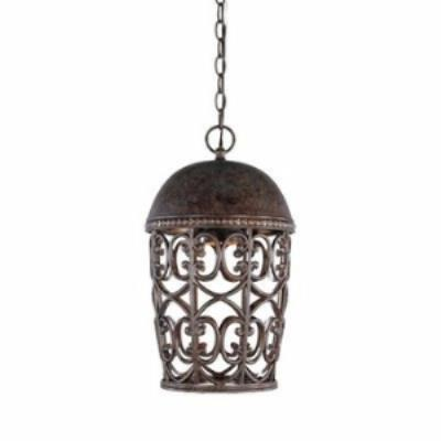 Designers Fountain 97594-BU Amherst - One Light Outdoor Hanging Lantern