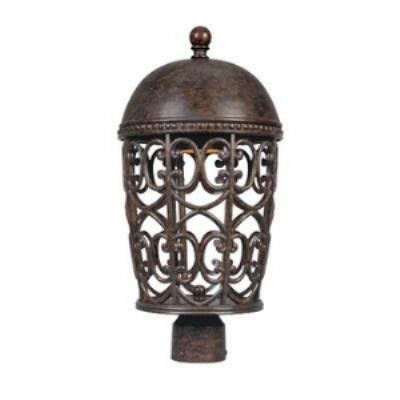 Designers Fountain 97596-BU Amherst - One Light Outdoor Post Lantern