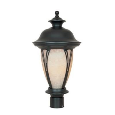 Designers Fountain FL30536-AM-BZ 11 Inch Post Lantern