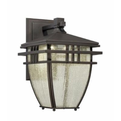 "Designers Fountain LED30821-ABP Drake - 9"" Outdoor Wall Lantern"