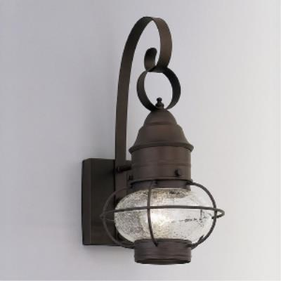 Designers Fountain 1761-RT Nantucket - One Light Outdoor Onion Wall Lantern