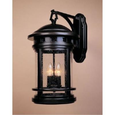 Designers Fountain 2391-ORB Sedona - Three Light Outdoor Wall Lantern