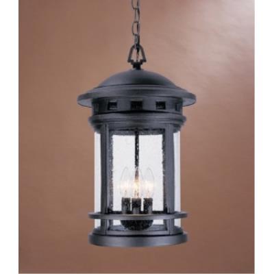 Designers Fountain 2394-ORB Sedona - Three Light Outdoor Wall Lantern