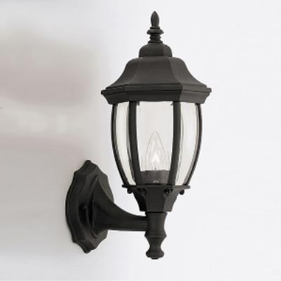 Designers Fountain 2420-BK Triverton - One Light Outdoor Wall Lantern