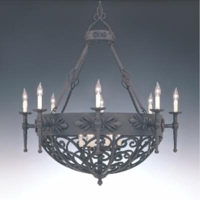 Designers Fountain 9189-NI 8+6 Chandelier