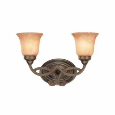 Dolan Lighting 3102-133 Medici - Two Light Bath Bar