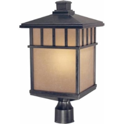 Dolan Lighting 9118-68 Barton - One Light Outdoor Post