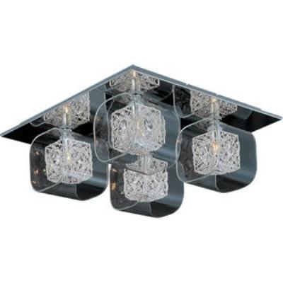 ET2 Lighting E22838-18PC Gem - Four Light Flush Mount
