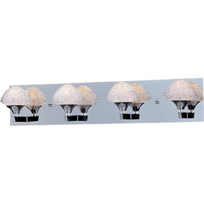 ET2 Lighting E23014-20PC Blossom - Four Light Bath Vanity