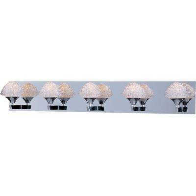 ET2 Lighting E23015-20PC Blossom - Five Light Bath Vanity