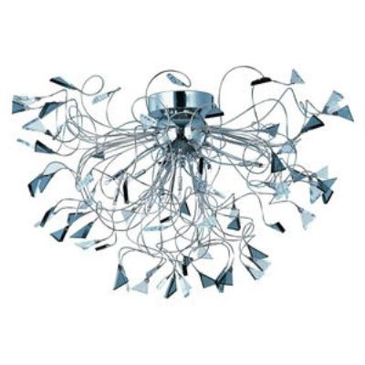 ET2 Lighting E23261-138PC Calypso - Twelve Light Flush Mount