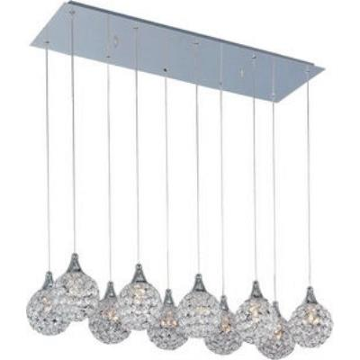 ET2 Lighting E24028-20PC Brilliant - Ten Light Pendant