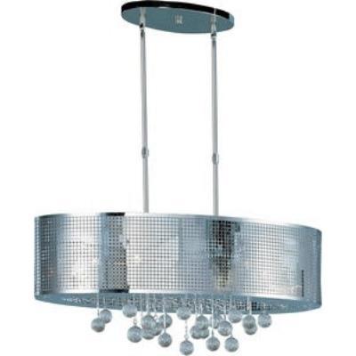 ET2 Lighting E24389-91PC Illusion - Nine Light Pendant