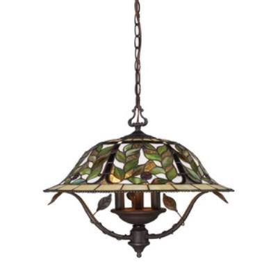 Elk Lighting 08016-TBH Latham - Three Light Chandelier