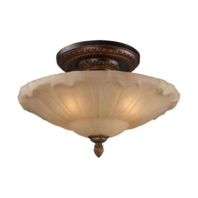 Elk Lighting 08093-AGB Restoration Flushes - Four Light Semi-Flush Mount