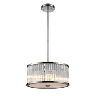 Elk Lighting 10128/3 Braxton - Three Light Pendant