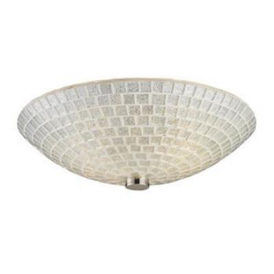 Elk Lighting 10139/2SLV Fusion - Two Light Semi-Flush Mount