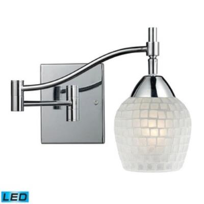 Elk Lighting 10151/1PC-WHT-LED Celina - One Light Swing Arm Wall Mount