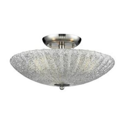 Elk Lighting 10271/3 Luminese - Three Light Semi-Flush Mount