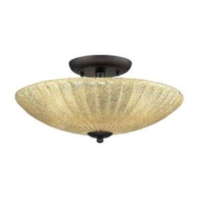 Elk Lighting 10281/3 Luminese - Three Light Semi-Flush Mount
