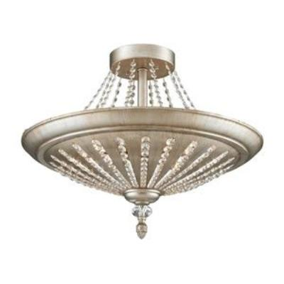 Elk Lighting 11360/9 Renee - Nine Light Semi-Flush Mount