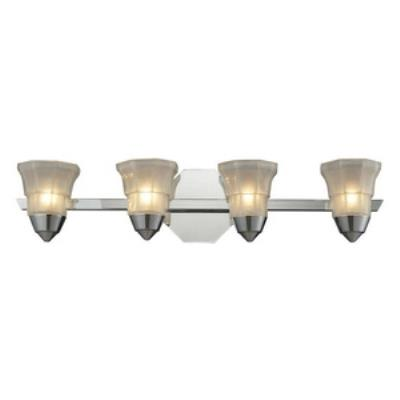 Elk Lighting 11393/4 Deco - Four Light Bath Bar