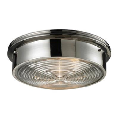 Elk Lighting 11443/3 Three Light Flush Mount