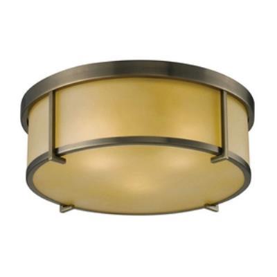 Elk Lighting 11485/3 Three Light Flush Mount
