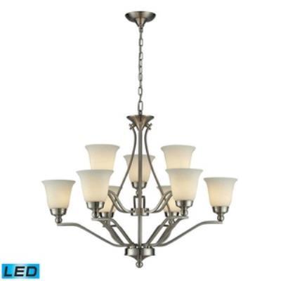 Elk Lighting 11504/6+3-LED Sullivan - Nine Light Chandelier