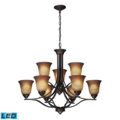 Elk Lighting 11534/6+3-LED Malaga - Nine Light Chandelier
