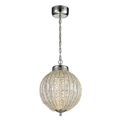 "Elk Lighting 11729/LED Crystal Sphere - 18"" LED Pendant"