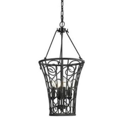 Elk Lighting 14048/4 Santiago - Four Light Ceiling Lantern